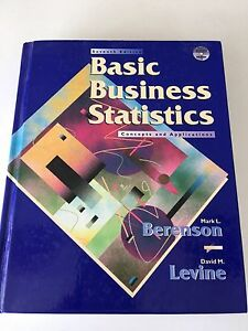 Basic Business Statistics- concepts & applications : 7th edition West Launceston Launceston Area Preview