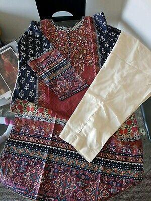 Limelight 100% original 2pc latest stitched summer suit,BNWT. Khaadi