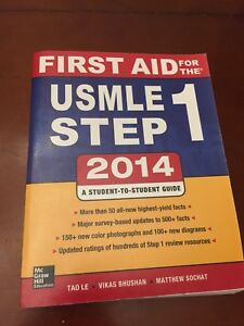 First Aid USMLE Step 1 (2014)
