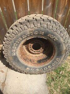 "Spare tire on 16"" rim"