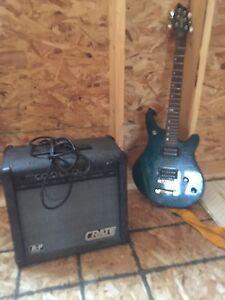 Washburn electric guitar and amp-$200 OBO