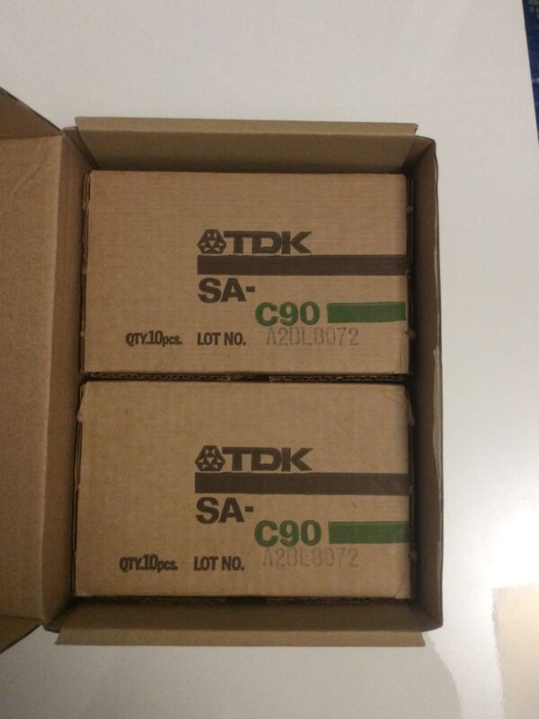 LOT OF 14 TDK SA-C90 CASSETTE TAPES FROM 1979 LOOK!!