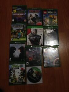 Video games xbox one (fallout 4, halo 5, halo wars, ect)