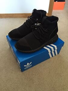 Adidas Tubular Doom Triple Black - Size 8.5 - DS