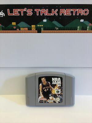 NBA Jam 99 Pal Cart Only Nintendo N64