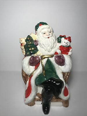 Dayton's, Hudsons, Marshall Fields Santa Claus Cookie Jar Collectors Series 1994