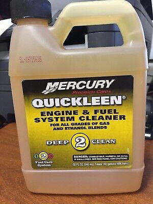 Mercury Quickleen Engine & Fuel system cleaner 8M0058691 32 oz.