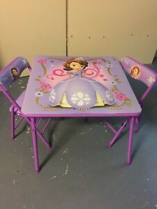 Girls princess Table and chairs