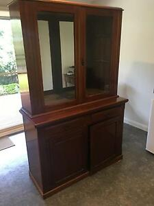 Solid cedar 2 piece cabinetv Hornsby Hornsby Area Preview