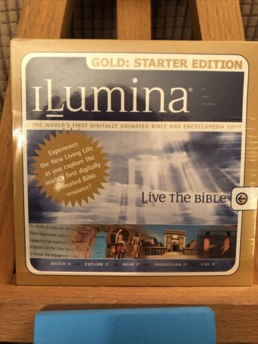 ILumina Gold Starter Edition Digitally Animated Bible Encyclopedia Suite NEW  - $18.99