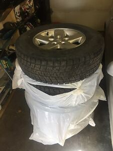 Jeep Wrangler rims and winter tires
