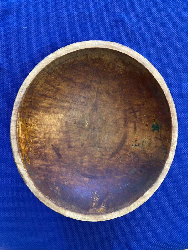 Vintage Wood Mixing Bowl