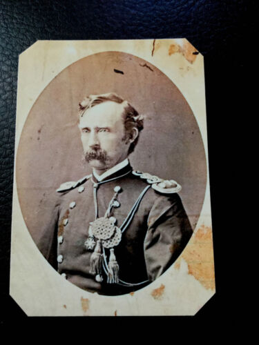 Last historical reproduction museum quality tintype of George A Custer C667RP
