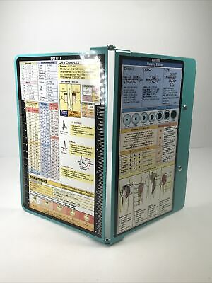 Gotitee Clipboard Nursing Edition Folding Aluminum Student Nurse Doctor Teal 6
