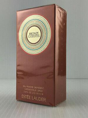 BRONZE GODDESS BY ESTEE LAUDER PERFUME FOR WOMEN 3.4 OZ NEW IN SEALED BOX
