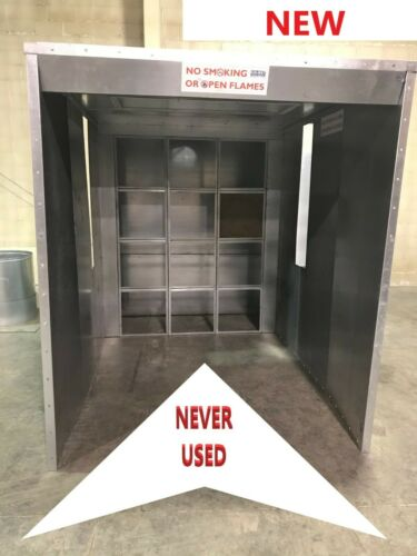 Paint Booth  Spray booth  COL MET IB-06-07-05-00-S  NEW