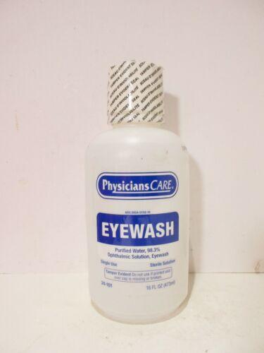 New Sealed PhysiciansCare 16 oz. Eyewash Bottle, 24-101- NEW, FREE SHIPPING!
