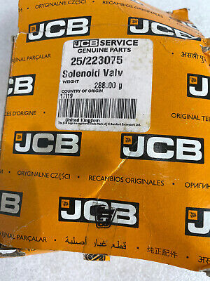 Jcb Parts 3cx 4cx - Kit-solenoid 12 Volt No. 25223075