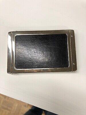 Vintage Silver Plate Business Card Case Holder