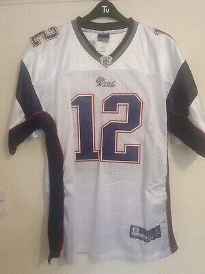 New England Patriots Jersey Number 12 Brady Size 54 - defects