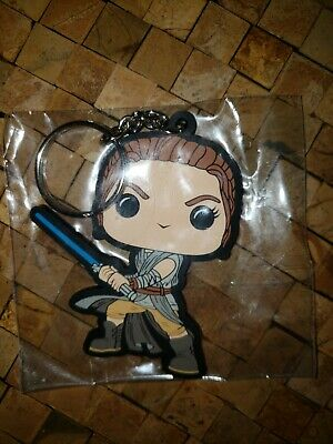 Funko POP! Star Wars - Smuggler's Bounty Exclusive Rey Rubber Keychain New