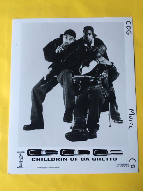 """Chilldrin Of Da Ghetto Press Photo 8x10"""". Priority Records."""