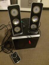 Logitech Z4 2.1 speakers set, w/ subwoofer - Going cheap!