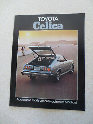 1976 Toyota Celica advertising booklet - USA