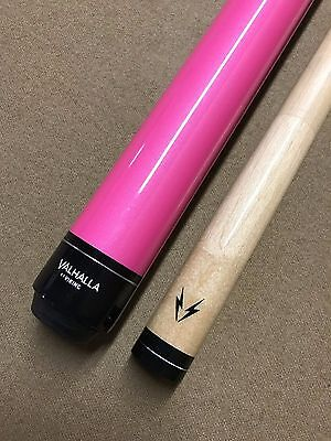 RARE Valhalla by Viking VAL-PNK Glowstick Neon Pink Pearl Paint Pool Cue](Glow Sticks Pool)
