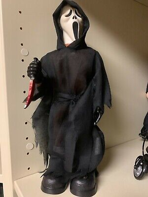 """""""SCREAM"""" GHOST FACE talking figure. WORKS PERFECTLY!"""
