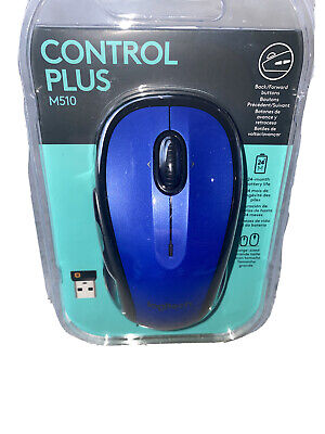 Logitech M510 Wireless Computer Mouse – Comfortable Shape with USB Unifying R...