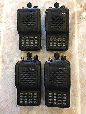 4x Vertex Vx-800 U Full Keypad Portable Radio