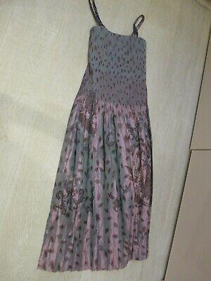 Heart HaaT by Issey Miyake Vintage Silk Dress - Size Medium