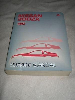 1993 NISSAN 300ZX SERVICE MANUAL SHOP REPAIR FACTORY Z32 series