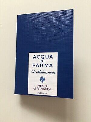 Acqua di Parma Blu Mediterraneo Mirto di Panarea EDT sample