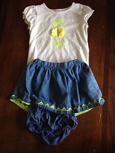 Gymboree girls summer outfit -3T