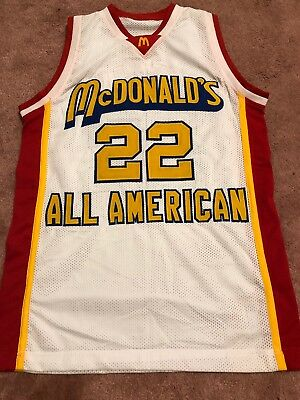 f2a05280b Carmelo Anthony McDonalds All American Jersey Stitch Finish