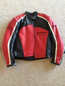 Ladies leather Rocket motorcycle coat