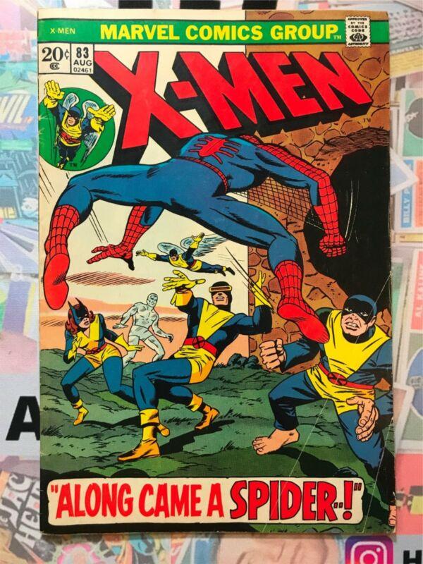X-Men 83 F- Along Came A Spider Marvel Comics 1973