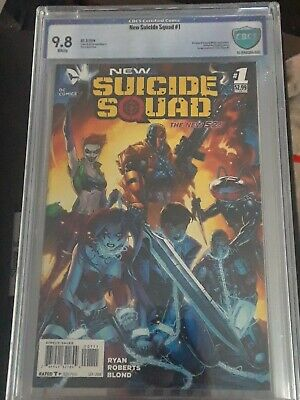 DC NEW SUICIDE SQUAD #1 HARLEY QUINN GOTHAM CITY SIRENS GRADED CBCS 9.8! Look](Harley Quinn Look)