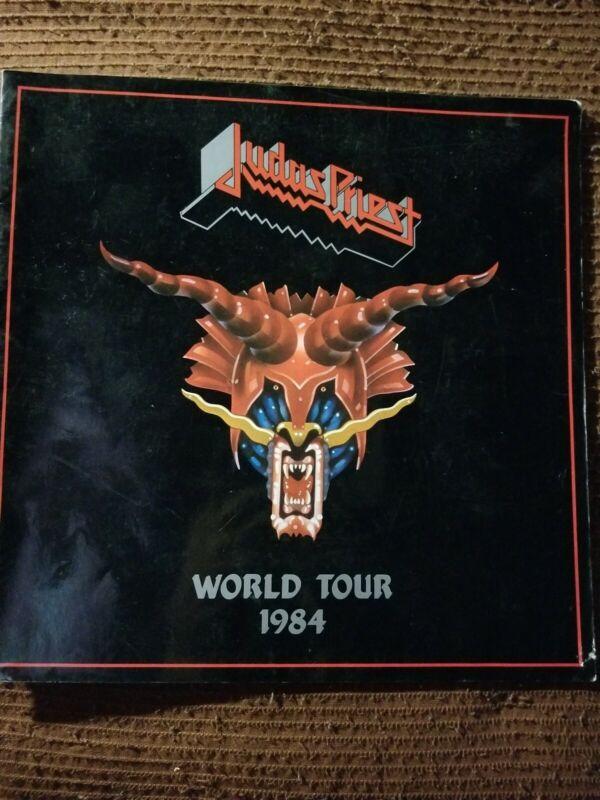 JUDAS PRIEST 1984 WORLD TOUR PROGRAM