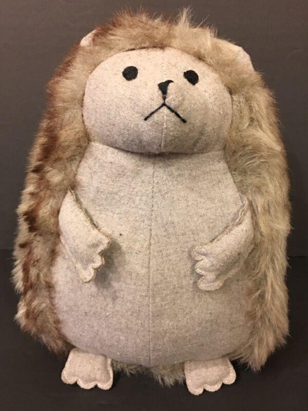 Adorable Hedgehog Plush Heavy Sand Filled Door Stopper Doorstop by Morgan Home