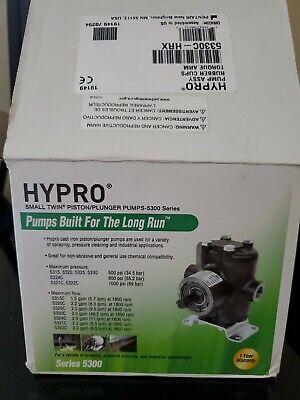 Hypro 5330c-hrx Small Twin Piston Pumpplunger Pump 3.0 Gpm