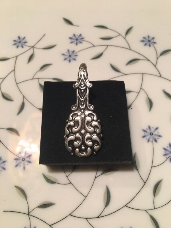 "Gorgeous Vintage Sterling Silver 2"" Bookmark"