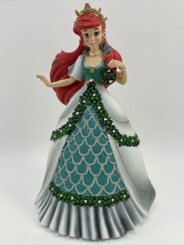Bradford Exchange Disney Ariel Little Mermaid Mistletoe Princess Figurine