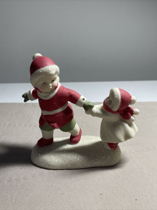 """VTG Retired Dept. 56 Simple Traditions Holly Lane """"Take My Hand"""" Figurine."""