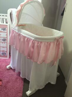 Bassinet for baby girl Algester Brisbane South West Preview