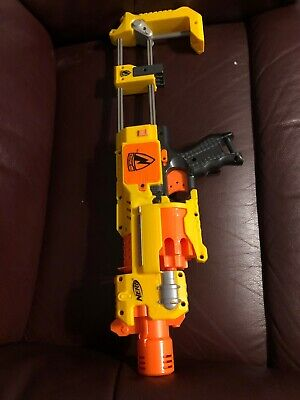 Nerf Barricade RV-10 Flywheel W Shoulder Stock Blaster Gun Hasbro