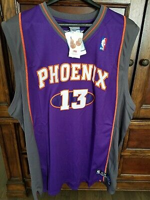 NBA Phoenix Suns Steve Nash #13 Authentic Jersey Reebok 60 NWT New