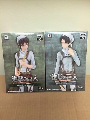 Attack On Titan Levi and Eren Yeager cleaning uniform set